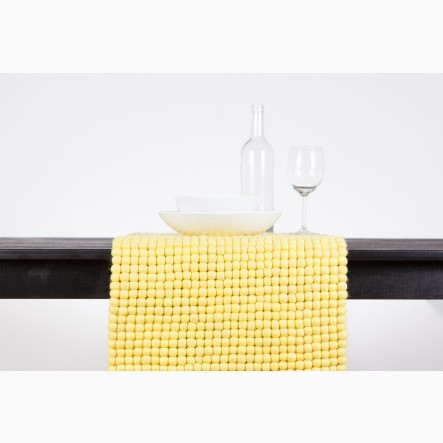 myfelt yellow Table Runner, 40 x 70 cm
